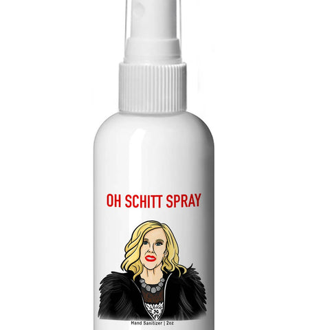 Oh Schitt Sanitizer Spray