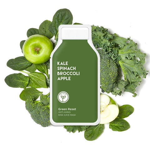 Green Reset Anti Aging Raw Juice Face Mask