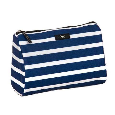 Nantucket Navy Packin Heat Makeup Bag