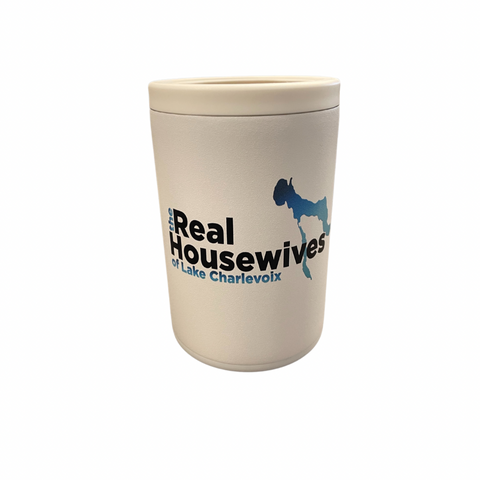 Real Housewives of Lake Charlevoix White Combo Can Cooler