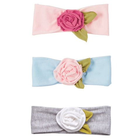 Girls Floral Headwrap