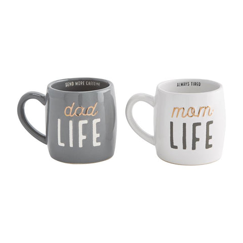 Parent Life Mug Set
