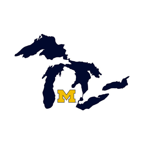 University of Michigan Great Lakes Decal