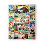 National Parks 1000 Piece Vintage Puzzle