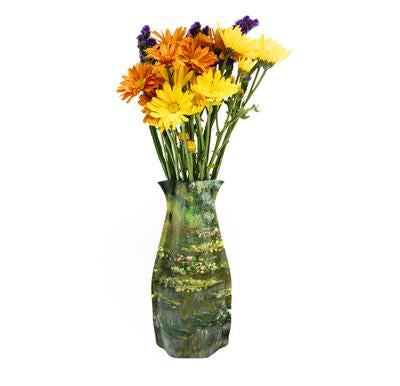 Claude Monet Waterlilies Vase