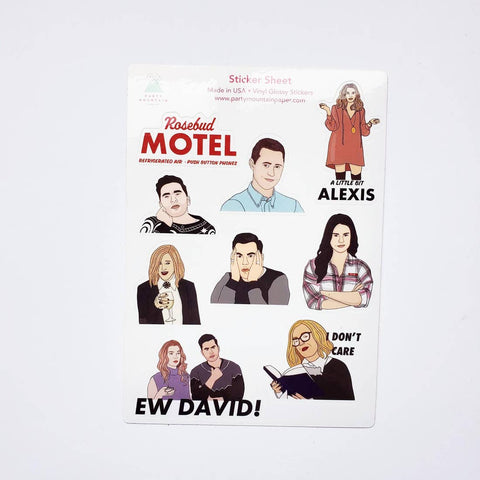 Schitt's Creek Sticker Set