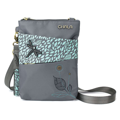 Dragonfly Nylong Cellphone Crossbody Purse