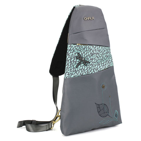 Dragonfly Nylon Slingback Backpack