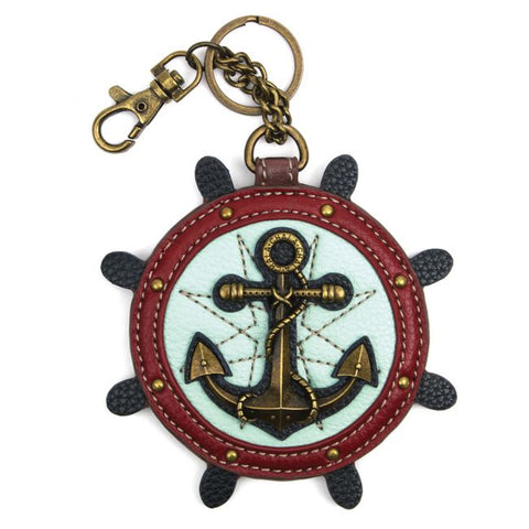 Anchor Key Fob/Coin Purse