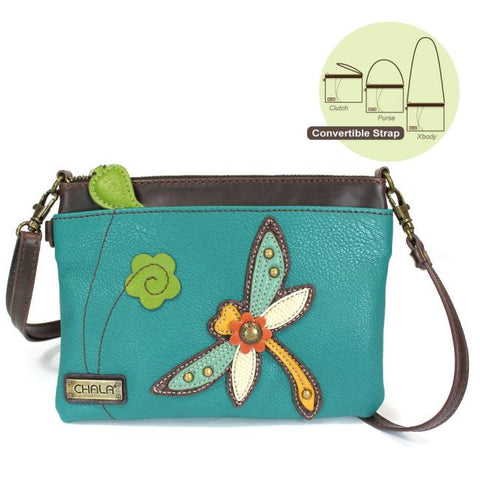 Dragonfly Zip Crossbody
