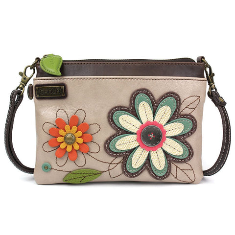 Ivory Daisy Crossbody Purse