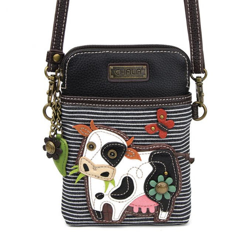 Cow Cell Phone Crossbody Purse