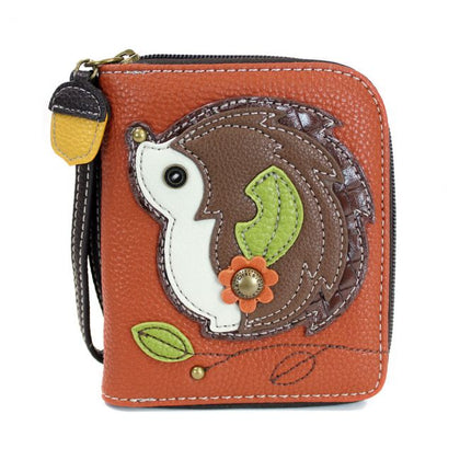 Hedgehog Zip Around Wallet