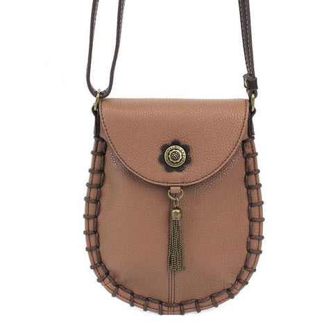 Brown Charming Cellphone Crossbody Purse