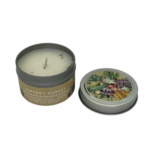 Farmer's Market 4oz Travel Candle