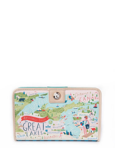 Great Lakes Snap Wallet