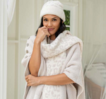 Cozcychic Barefoot in the Wild Beanie and Scarf Set