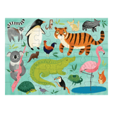 Animals of the World Puzzle On the Go