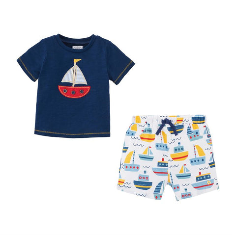Sailboat Tee and Short Set
