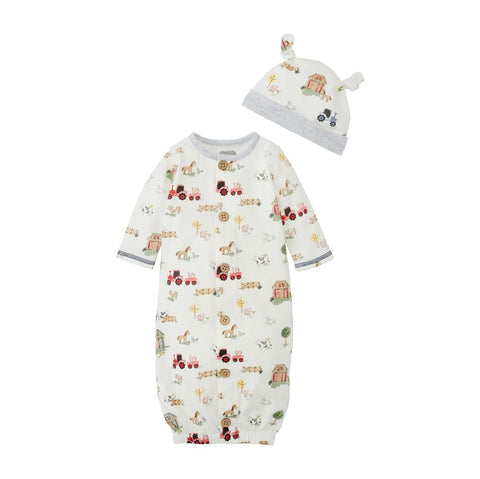 Farmer Take Me Home Bubble and Hat Set