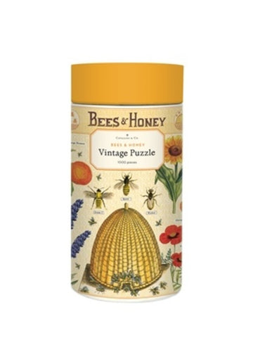 Bees and Honey 1000 Piece Vintage Puzzle