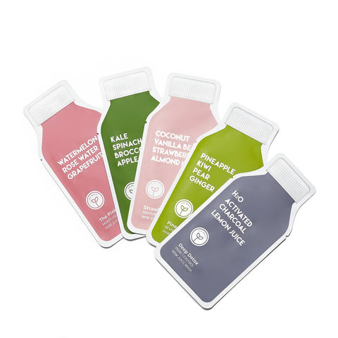 Juice Natural Face Mask Set