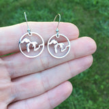 Great Lakes Cut Out Earrings