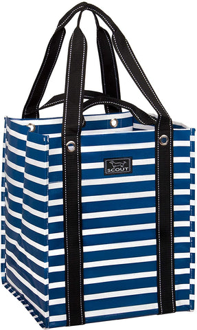 Nantucket Navy Baguette Bag