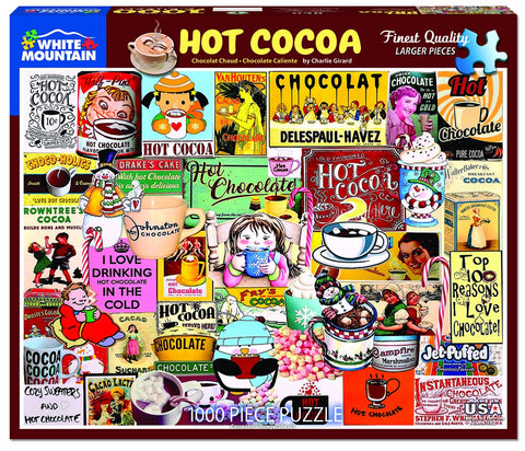 Hot Chocolate 1000 Piece Puzzle