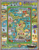 "Michigan ""The Great Lakes State"" 1000 Piece Puzzle"