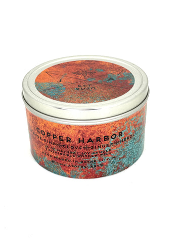 Copper Harbor 4 oz Travel Candle