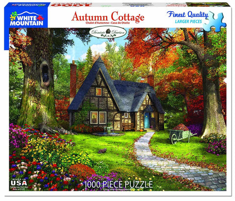 Autumn Cottage 1000 Piece Puzzle