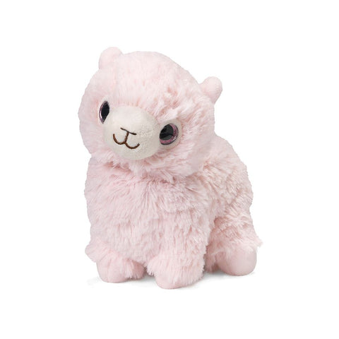 Pink Llama Warmies Stuffed Animal