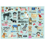 Hot Dogs A-Z 1000 Piece Puzzle