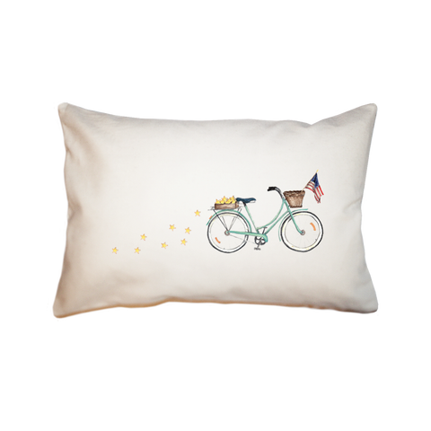 Patriotic Bike Local Pillow Rectangle