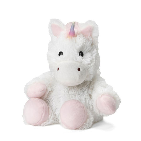 White Unicorn Warmies Junior Stuff Animal