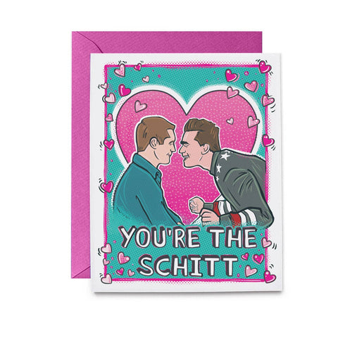 You're The Schitt David and Patrick Card