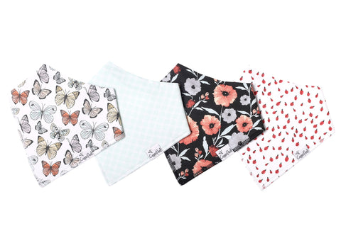 Dot Butterfly Bib Set