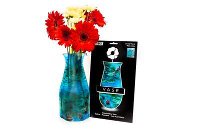 Water Lillies Expandable Vase