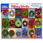 Holiday Wreaths 550 Piece Puzzle