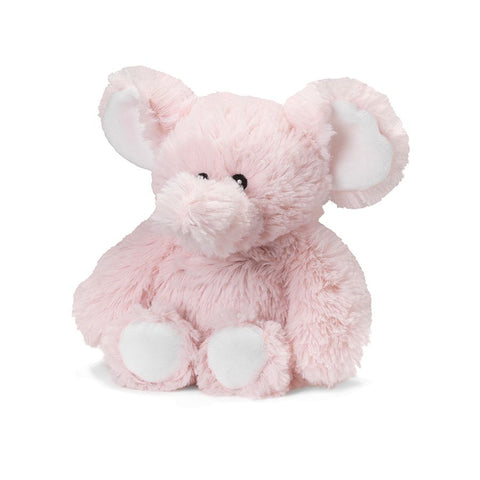 Pink Elephant Warmies Stuffed Animal