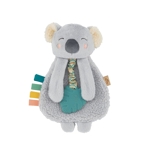 Koala Plush Itzy Lovey with Silicone Teether Toy
