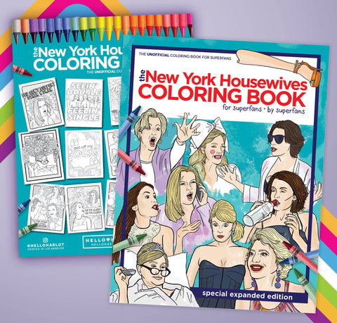 Real Housewives of New York City Coloring Book
