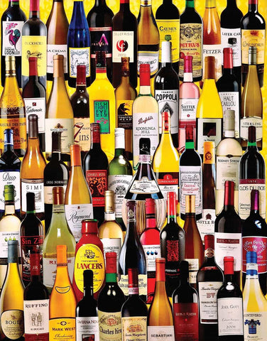 Wine Bottles 1000 Piece Puzzle