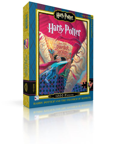 Harry Potter and the Chamber of Secrets Book Cover 1000 Piece Puzzle