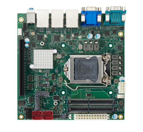 GMB-IW48000 Industrial Motherboard Mini ITX, Comet lake -S 10th Gen. Intel® Processors