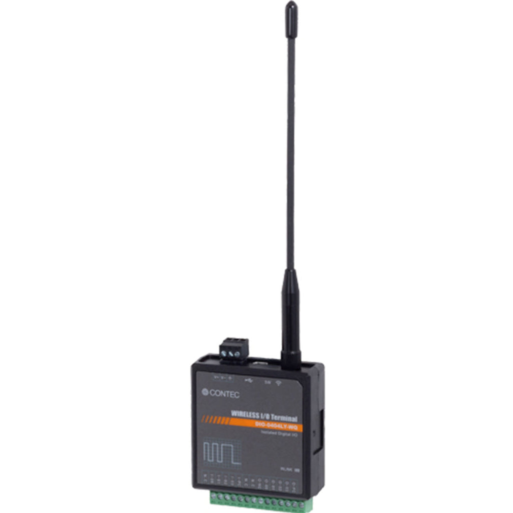 DIO-0404LY-WQ-US Isolated Digital I/O Terminal for Sub-1GHz band Wireless