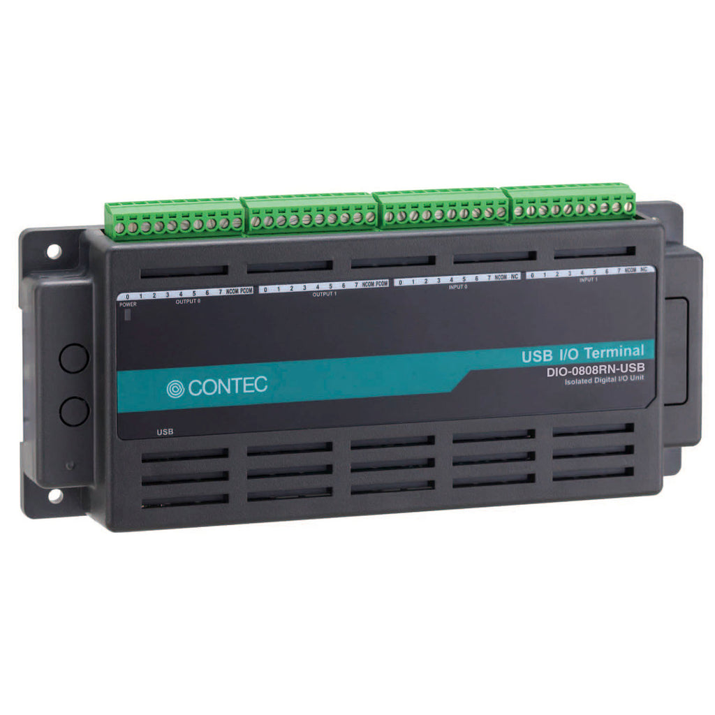 DIO-0808RN-USB Digital I/O USB I/O unit 8ch/8ch