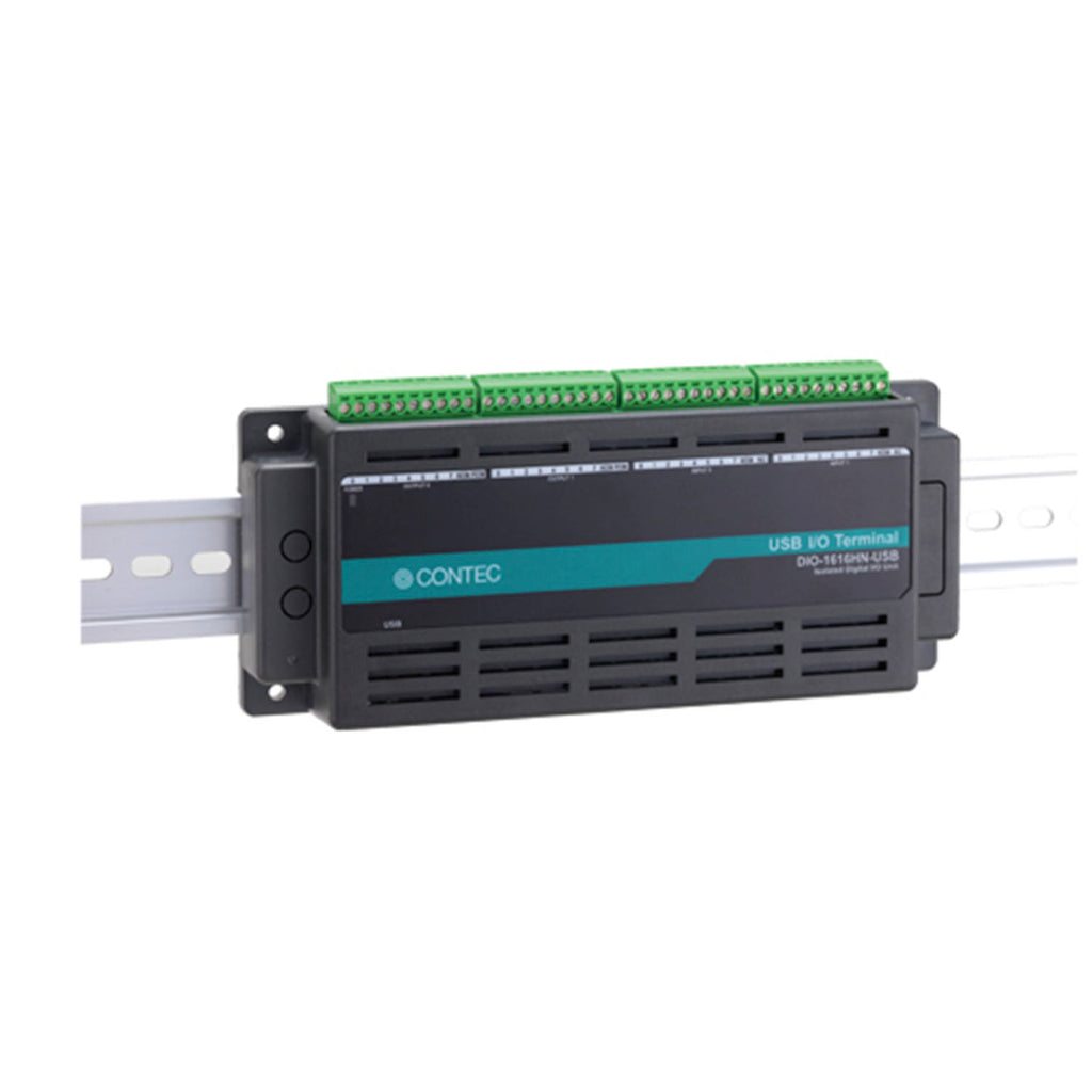 DIO-1616HN-USB Digital I/O USB I/O unit 16ch/16ch (isolated 5 - 50VDC) - the N series