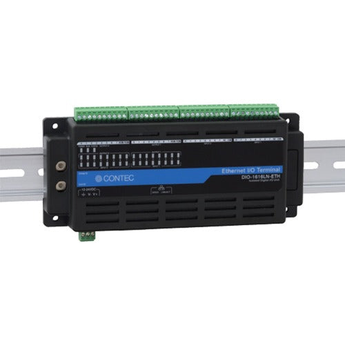 DIO-1616LN-ETH Isolated Digital I/O Unit (16ch DI, 16ch DO) for Ethernet